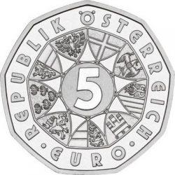 5 евро, Австрия (100 лет футболу)