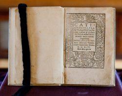 Катехизис Мартинаса Мажвидаса — первая книга на литовском языке, 1547 год