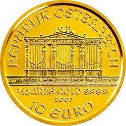 10 евро, Австрия (Венский филармонический оркестр)