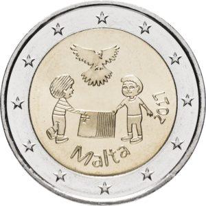 2 евро, Мальта (Солидарность и мир)