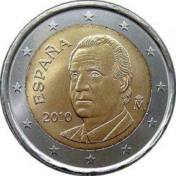 2 евро, Испания (тип 2)
