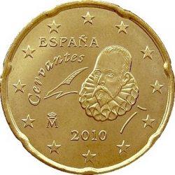 20 евроцентов, Испания (тип 2)