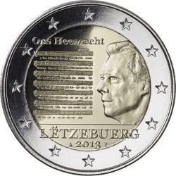 2 евро, Люксембург (Национальный гимн)