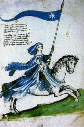 Барбары Цилли, миниатюра из манускрипта «Bellifortis», 1405 г.