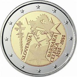 2 евро, Словения (600 лет коронации Барбары Цилли)