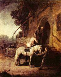 «Добрый самарянин» (Рембрандт, 1632—1633, Лондон)