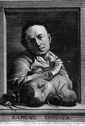 Георг Рафаэль Доннер (гравюра на меди фон Шмутцера, собрание Исторического музея Вены)