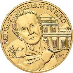 100 евро, Австрия (Скульптура)