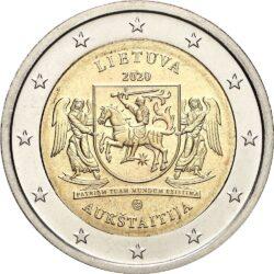 2 евро, Литва (Аукштайтия)