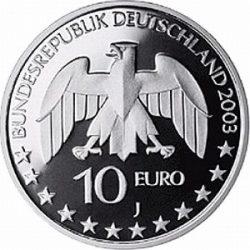 10 евро, Германия (200 лет со дня рождения Юстуса Либиха)