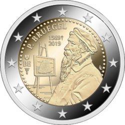 2 евро, Бельгия (450 лет со дня смерти Питера Брейгеля Старшего)