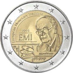 2 евро, Бельгия (25-летие Европейского валютного института)