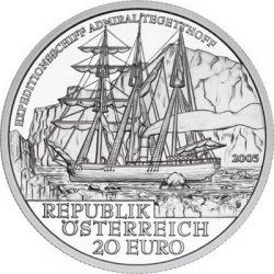 20 евро, Австрия (Полярная экспедиция 1872-1874 гг.)