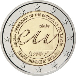 2 евро, Бельгия (Председательство Бельгии в Евросоюзе)