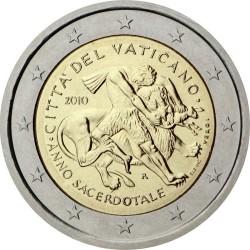 2 евро, Ватикан (Год священника)