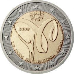 2 евро, Португалия (Вторые спортивные игры португалоязычных стран)