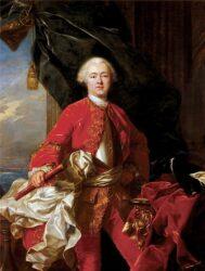 Портрет Оноре III работы Жана Батиста ван Лоо (Княжеский дворец в Монако, до 1745 г.)