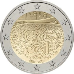 2 евро, Ирландия (100-летие со дня первого заседания Дойл Эрен)