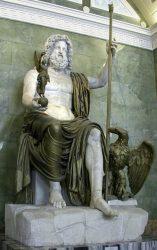 Юпитер. Верховный бог римлян. Конец I в. Мрамор, (с XIX в. в Эрмитаже)