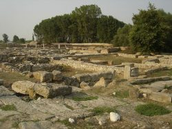 Руины древнего Диона