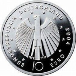 10 евро, Германия (2-я монета серии «Чемпионат мира по футболу 2006»)