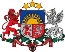 Большой герб Латвийской Республики
