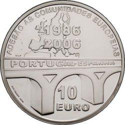 10 евро, Португалия (20 лет вступления Португалии и Испании в ЕС)