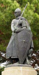 Статуя Афонсу I в замке Св. Георгия, Лиссабон