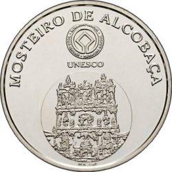 5 евро, Португалия (Монастырь Алкобаса)