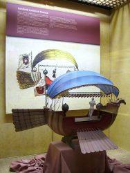 Модель Passarola в масштабе 1:10 (Национальный музей авиации и космонавтики в Чили)