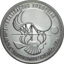 8 евро, Португалия (Изобретатель Бартоломеу де Гусман)