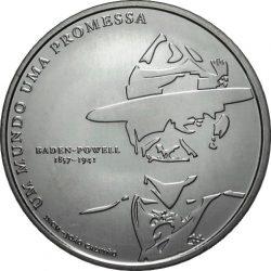5 евро, Португалия (100 лет скаутскому движению)