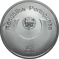 5 евро, Португалия (Европейский год равных возможностей для всех)