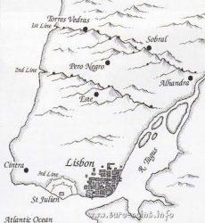 Две линии укреплений Торриш-Ведраш