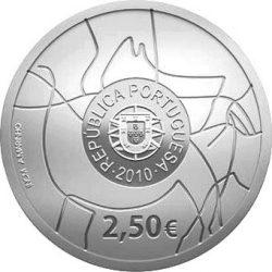 2,5 евро, Португалия (Археологический парк долины Коа)
