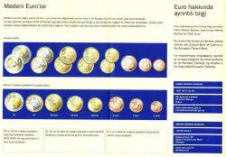 Буклет, ознакомляющий киприотов с новыми деньгами.