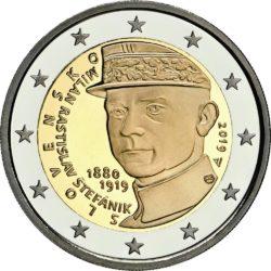 2 евро, Словакия (100 лет со дня смерти Милана Ростислава Штефаника)