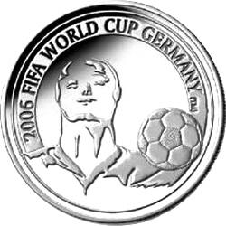 20 евро, Бельгия (Чемпионат мира по футболу 2006). реверс