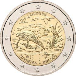 2 евро, Литва (Биосферный резерват Жувинтас)