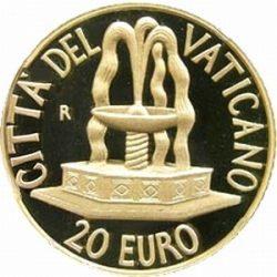 20 евро, Ватикан (Крещение)