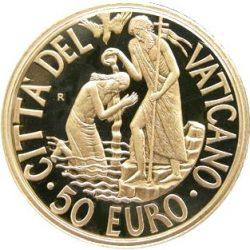 50 евро, Ватикан (Крещение)