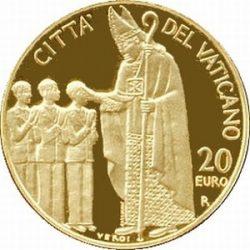 20 евро, Ватикан (Конфирмация)