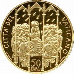 50 евро, Ватикан (Конфирмация)