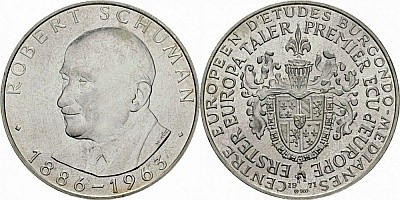 Первый евроталер 1971 года