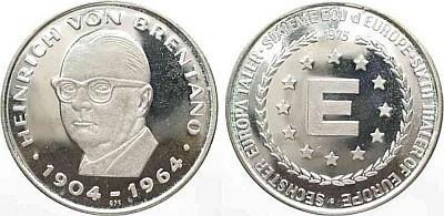 Шестой евроталер 1973 года