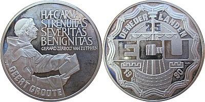 25 ЭКЮ Нидерландов 1990 года - Герт Гроте
