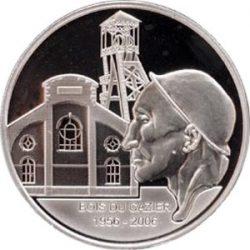 10 евро, Бельгия (50 лет несчастному случаю на угольной шахте Bois du Cazier)