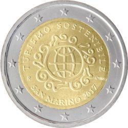 2 евро, Сан-Марино (Международный год устойчивого туризма в интересах развития)