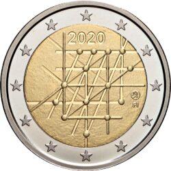 2 евро, Финляндия (100-летие Университета Турку)