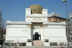 Фасад Венского Сецессиона